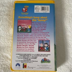 Peanuts Other - Charlie Brown Easter VHS Tape